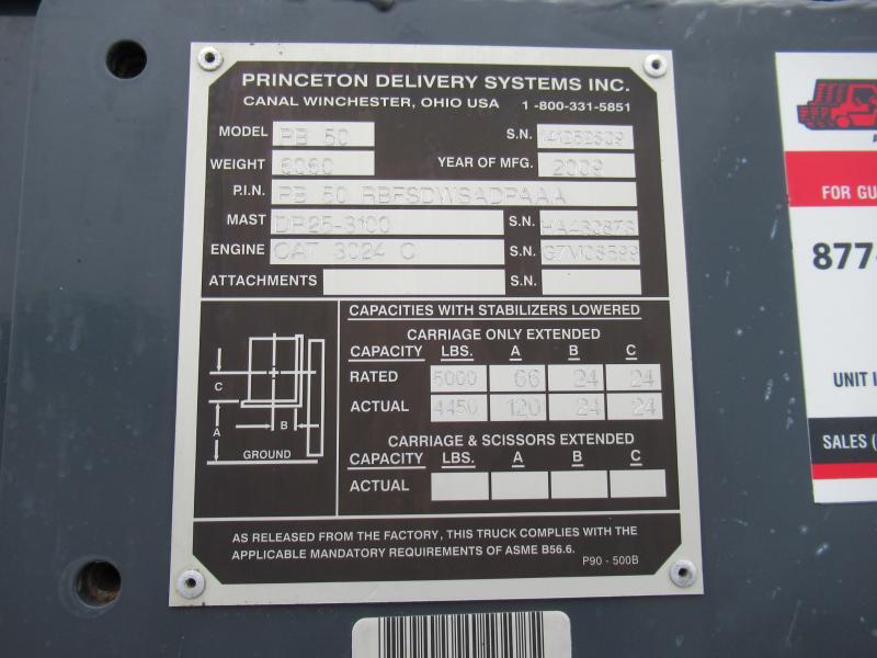 2009 Princeton PB50 - 17