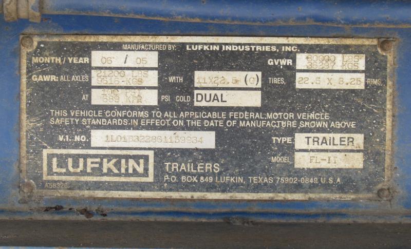2006 LUFKIN FL-11 - 12