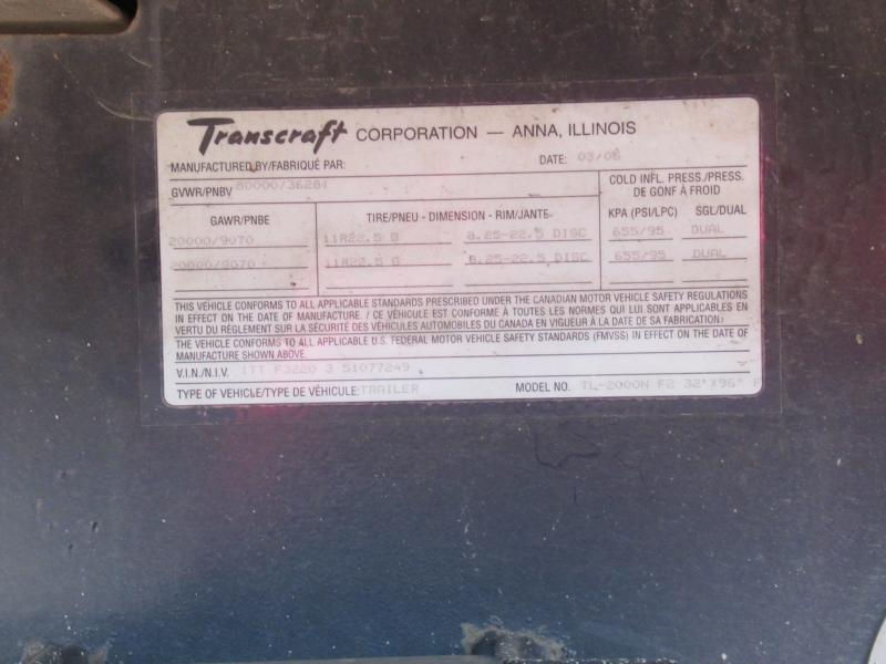 2005 TRANSCRAFT TL-2000N - 10