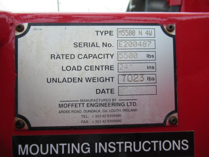 2005 Moffett M5500 N 4W - 2