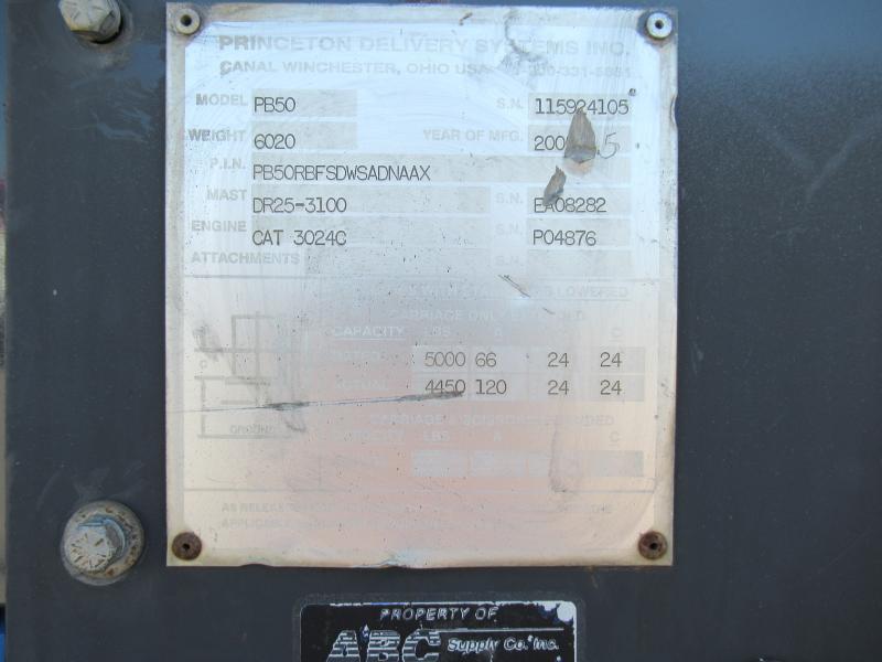 2005 Princeton PB50 - 18
